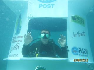 Underwater Post Office